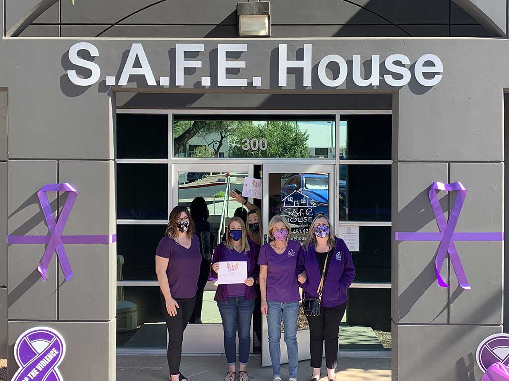 Stop Violence - Domestic Violence Awareness Month - SAFE House Henderson, NV