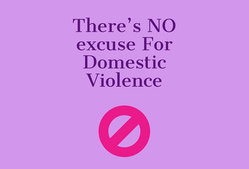 There's No Excuse for Domestic Violence